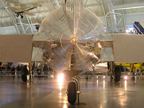 P1190165 - The rear end of the Boeing 307 Stratoliner Clipper Flying Cloud
